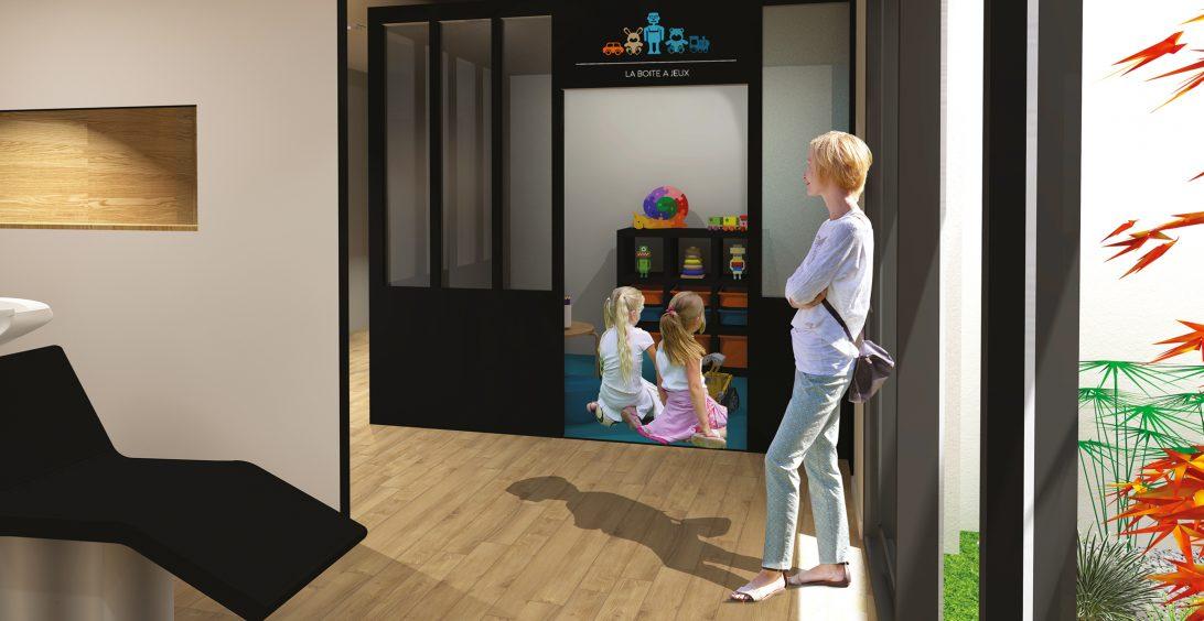 Christèle Calleja, projet d'architecture d'intérieur La Boîte à Couleurs