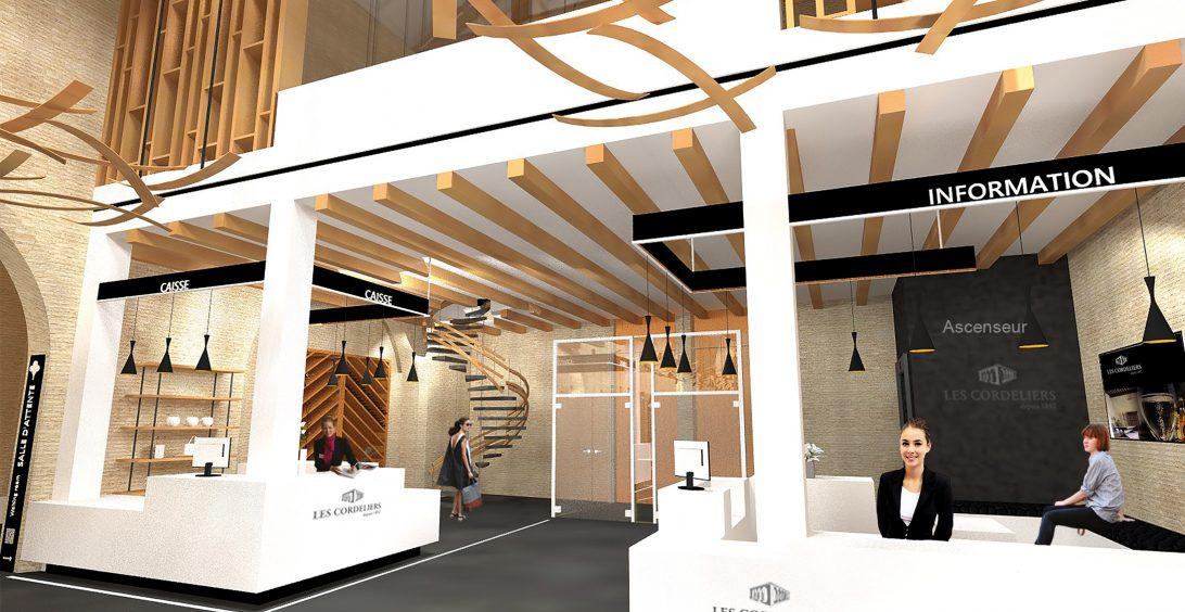 Christèle Calleja, projet d'architecture d'intérieur Les Cordeliers