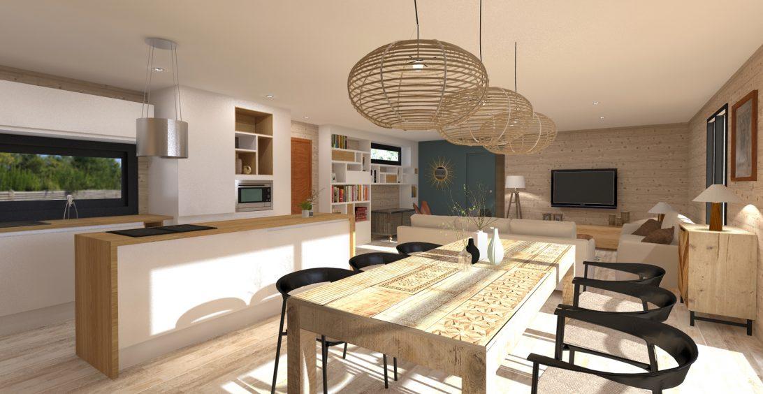 Christèle Calleja, projet d'architecture d'intérieur Maison Lenan