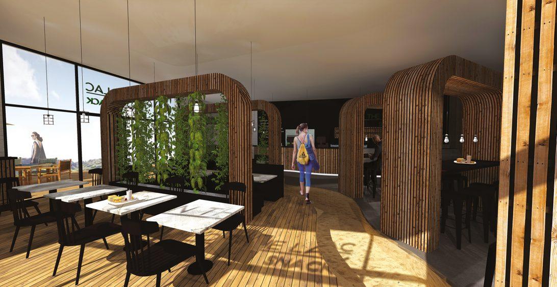 Christèle Calleja, projet d'architecture d'intérieur Surf Park