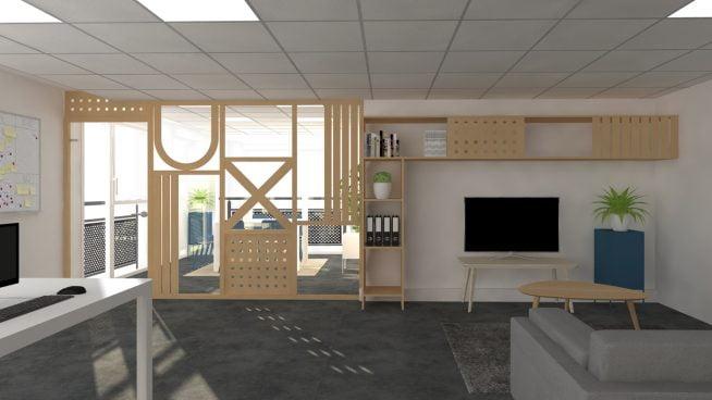 Christèle Calleja, projet d'architecture d'intérieur Uxer
